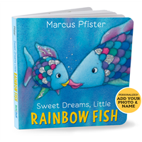 Personalized Rainbow Fish Board Book