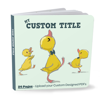 Designer Board Book Plus - 24 Pages