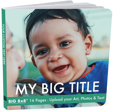 Advanced Board Book XL - 16 Page