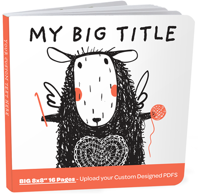 Designer Board Book XL - 16 Pages