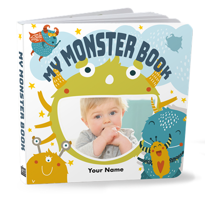 My Monster Board Book