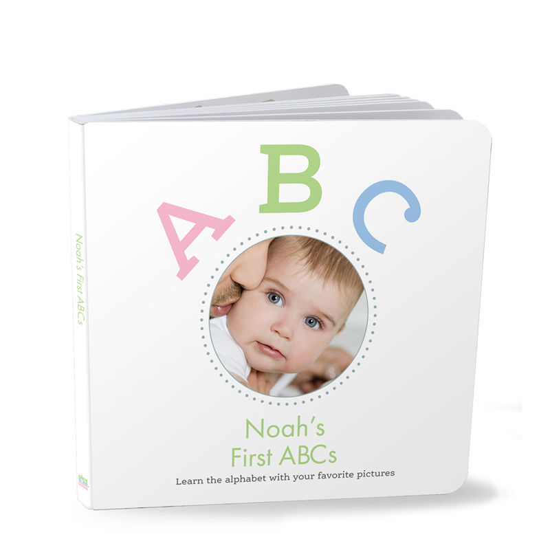 Personalized board books story books made with your baby or childs personalized abc negle Images