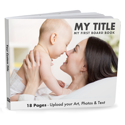 Advanced Board Book Wide - 18 Page