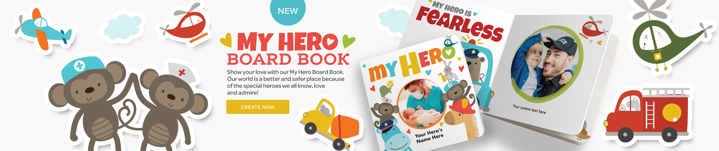 My Hero Board Book