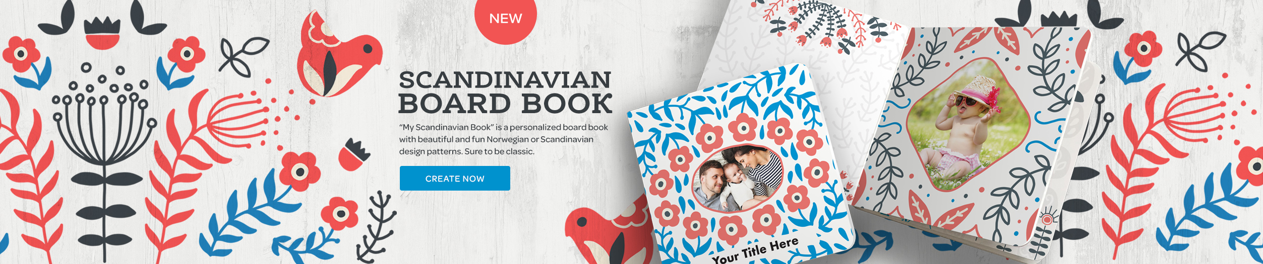 Scandinavian Board Book